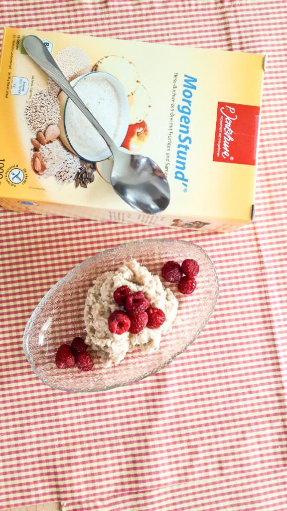 Hirse-Buchweizen-Frühstücksbrei