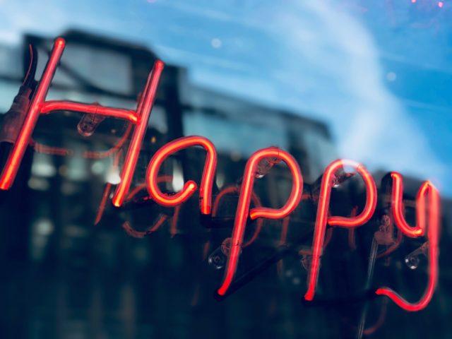 Alles was du brauchst, um glücklich zu sein